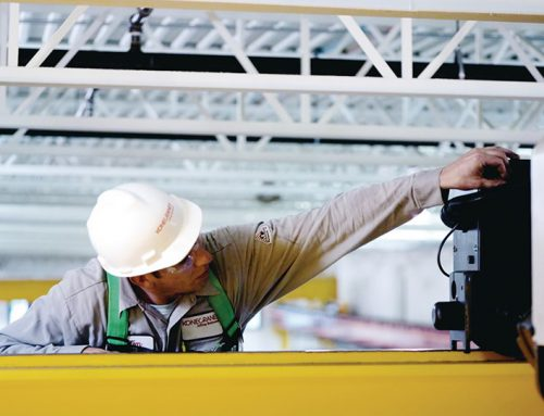 Photography: Crane Inspection at Toyota Mfg. Plant